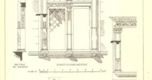 Architectural Details Drawing Andrew N Prentice of CarambasVintage, $ 22.0 ...