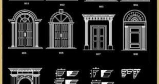 Architectural decorative blocks | FREE CAD BLOCKS & DRAWINGS DOWNLOAD CENTER ...