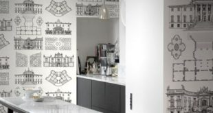 Architectural drawings for wall design # french #design # kitchen