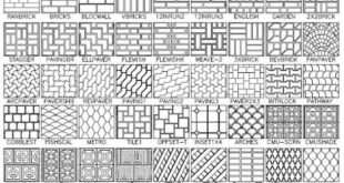 AutoCAD Hatch Pattern - 100 Plus Hatch Patterns