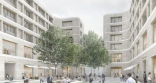 Chipperfield's new plans for Berlin's Kudamm Square / living instead of offices ...