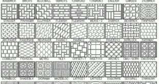 Click here to see 365 hatch patterns (1/5). www.simplecad.com ...