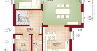 Detached house new build modern with saddle roof Architecture & conservatory bay window with ...