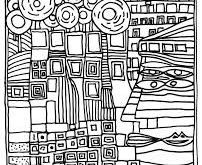 Image result for coloring pages hundred-water