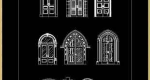 Luxury Door & Window | FREE CAD BLOCKS & DRAWINGS DOWNLOAD CENTER