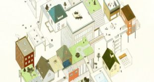 """Tom Ngo's """"Architectural Absurdities"""" shows buildings that can never be built."""