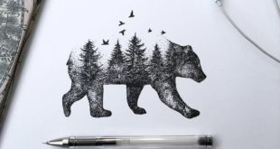 Very clean and filigree drawings by Alfred Basha from Italy ...