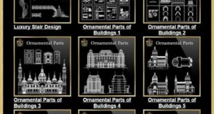 Bund Architectural CAD drawings package ¡(The best collections! Get a total of 79 Col
