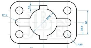 A blog to learn AutoCAD with step-by-step exercises and exercises ...