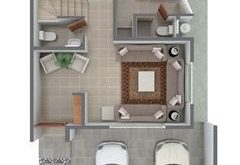Plans of Houses, Architectural Plans of Houses and Departments, Plans of Di ...