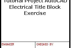 Autocad title block drawing - Google Search