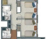 FLAT OF HOUSING OF 4 BEDROOMS IN 92M2: FREE HOUSING PLANS AND DEPARTMENT ...