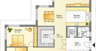 Floor plan bungalow holiday house # plan # house planning # interior equipment # ba ...