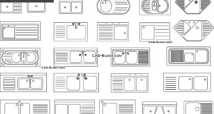 Free download of 200 blocks of bathroom Autocad 2d See more at www.michelenails ....