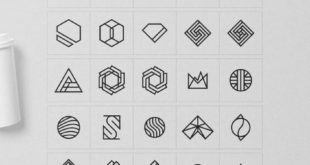 Geometric logo inspiration, logo design ideas, logo design inspiration, geometry ...