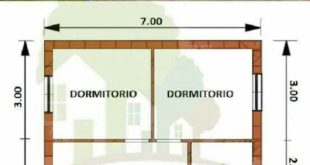 Image result of flat rectangular houses of one floor # casaspequeñascam ...