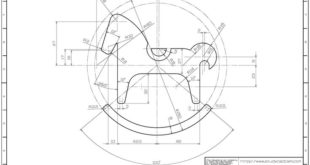 Learning drawings> 2D practice drawings> AutoCAD practice drawings - 808: Naverible ...