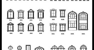 Ornamental pieces of buildings 13 - CAD design | Free CAD blocks, drawings, Detai ...