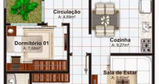Pinterest: Claudia García | House in residence 3 rooms