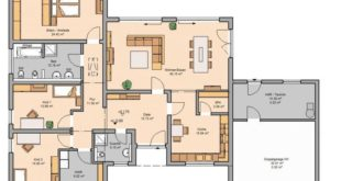 The Trio bungalow of KHC Bauträger GmbH has an area of ​​163 m². Price ...