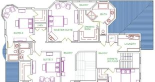 plan of the house - created through pinthemall.net