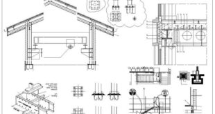 CAD blocks made of steel structure, design of steel structure structures, design of ...