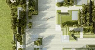 The project describes a landscape and facade design for a residential development ...