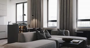 Modern living room design , What do you think about cooler shades of gray? , consequences