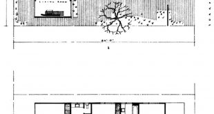 Project: Floor plan, house overlooking the Bay of Los Alamitos ⠀ Architects: Kenneth S.