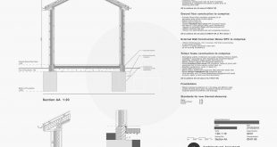 Building regulations are submitted !! Technical drawing for a small extension
