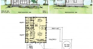 Conceptual Plan 1560 is a small house plan that can be used as an income product