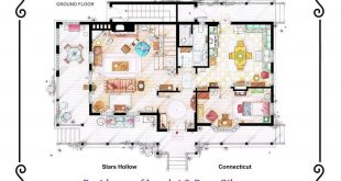 Floor Plans by Lorelai and Rory Gilmore by GILMORE GIRLS. If you are interested