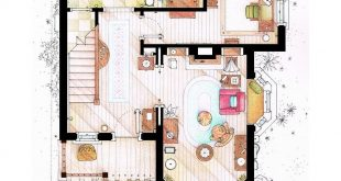 Floor plans of the House of UP.