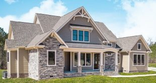 Here are some more shots of our exclusive New American Craftsman House Plan 3