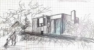 "__Hommelier__  Beginning of the third week of May , , ""Esherick House"" __Louis.I.Kahn (1901-1974)  P.S. Me too"