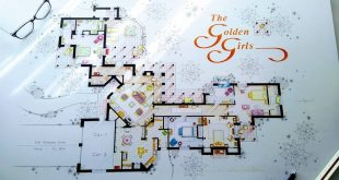 I made the biggest drawing of the house of THE GOLDEN GIRLS. Now on the way