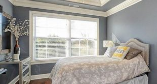 Master bedroom from Barclay Plan 248.