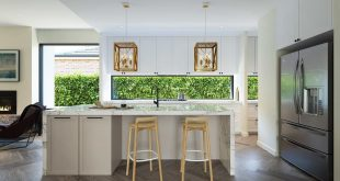 Mount Waverley House kitchen area designed by