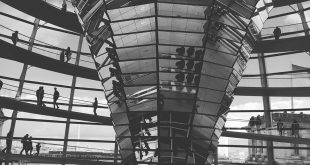 Norman maintains the Reichstag dome  A classic piece of Fosters + Partners architecture