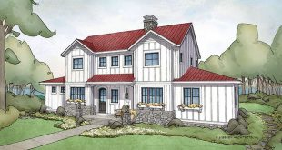 ON OFFER! This exclusive plan (the Bayridge) by Visbeen Architects gives you fa