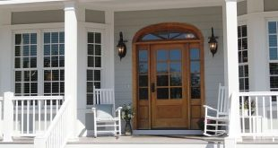 Porch of The Santee House Plan 1011!
