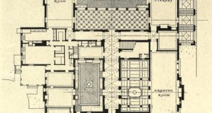 Project: Floor plan of Villa Turicum, home of Harold S. McCormick, Esq. ⠀ archit