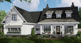 Restrict complaint? Do you bet? Triple dormers with metal roofs are noticeable in this mod
