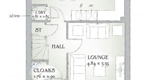 Since we have not posted yet, here is the floor plan of our Love the built in uti