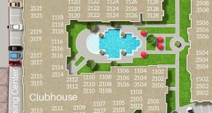 Site Map is the most convenient way to demonstrate your apartment community