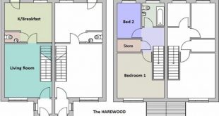 So this is the floor plan for our first home, not as big as everyone else on it