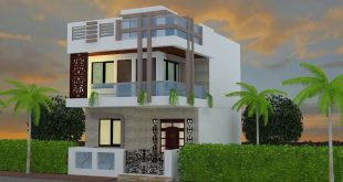 Student: Himanshu Software: 3Ds max Project: House view