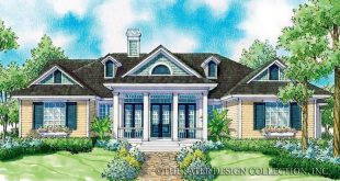 """Symmetry and classic rural beauty are featured in the """"Madison"""" home plan, wi"""