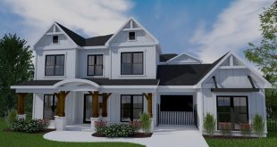 "The Eastwood - a Farmhouse Estate - is online now! 4291 sq. Ft. 56 ""x 78"""