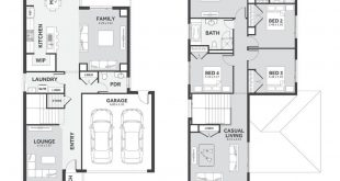 The Echo 2-31 of is a 30-square-meter, two-story building with a plot width of 12.5 meters. With 4 bed